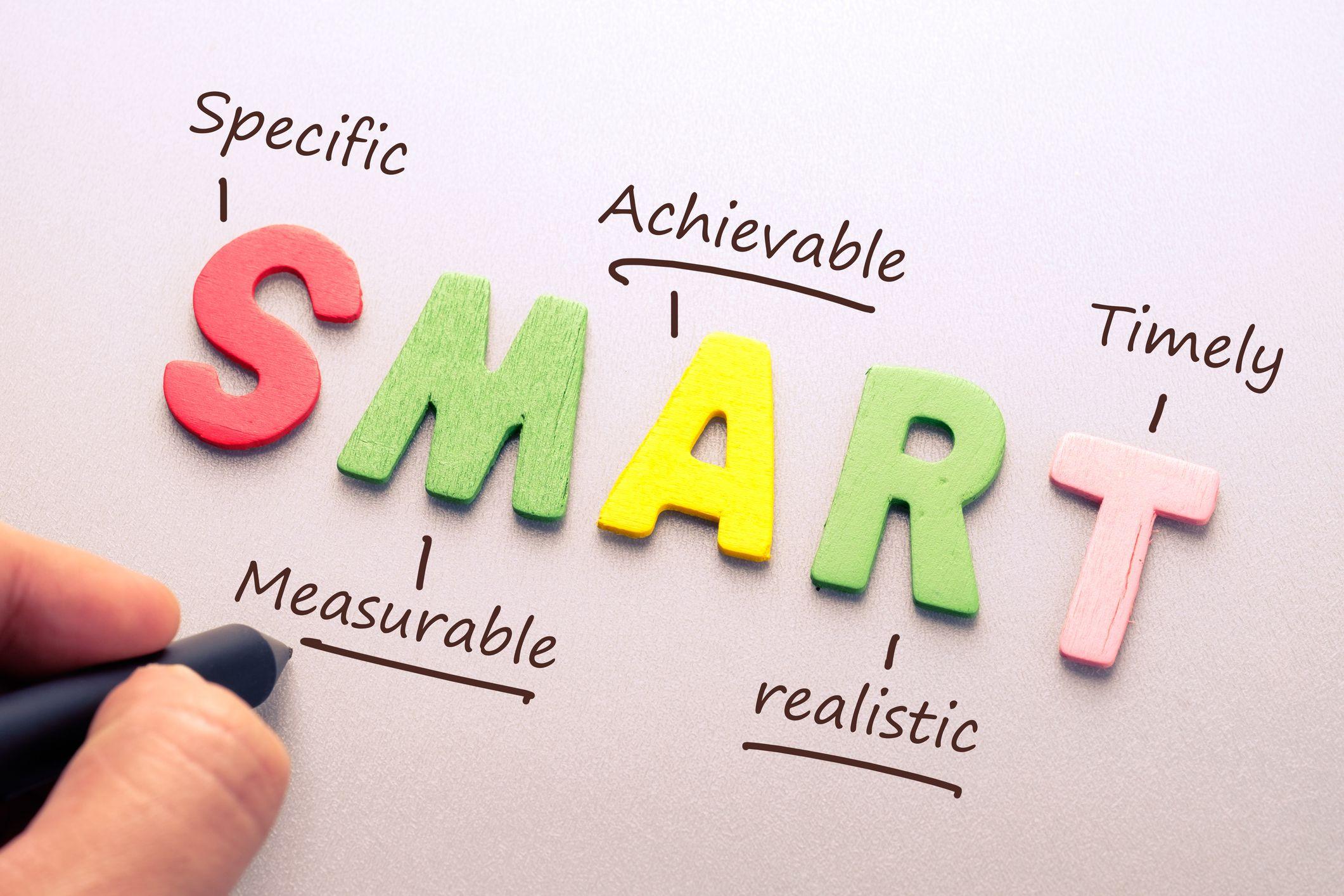 هدف گذاری به روش smart
