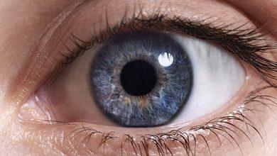 تصویر از ساختار چشم